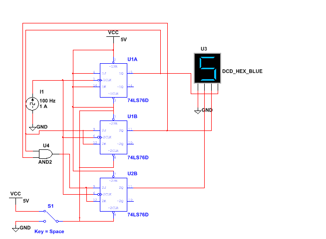 logic diagram of mod 10 counter 3.3.1 msi synchronous counter - defunct engineering mod 6 counter logic diagram #3