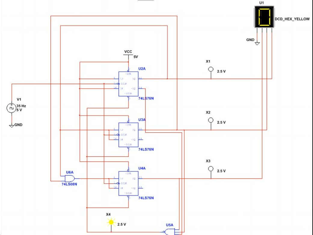 331 Msi Synchronous Counter Defunct Engineering Circuit Design Picture